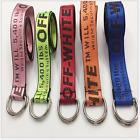 10 Colors Off White Unisex Belt Tie Down Nylon 135*4 cm Big Head Industrial Belt