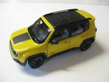 1:24 SCALE WELLY JEEP RENEGADE TRAILHAWK W/O BOX