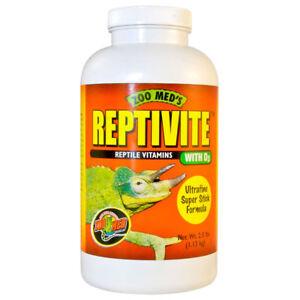 Zoo Med Reptivite Vitamin / Mineral / Calcium D3 Powder
