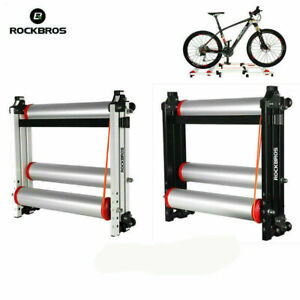"""ROCKBROS Bike Rollers Foldable Indoor Cycling MTB Bicycle Roller Trainer 16-29"""""""