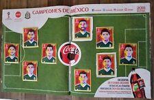 9 Coca Cola Stickers + Album Panini Russia World Cup 2018 Mexico Loose Stamps