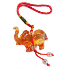 Orange Liuli Elephant Charm