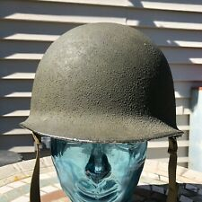 WWII Fixed Bale M1 Helmet McCord With Mid War Firestone Liner Named