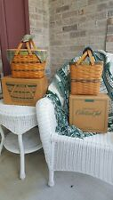 Longaberger Basket Collector's Club Traditions Throw Blanket Lot