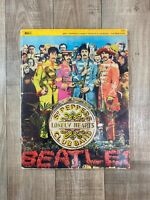 Beatles: Sergeant Peppers Lonely Hearts Club Band - Sheet Music Book - 1967