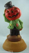 Halloween Scarecrow Jack O Lantern JOL Vintage Style Blowmold Empire Copy 1969