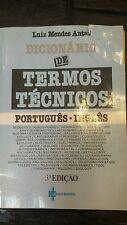 Dicionarii De Termos Tecnicos Portugues Ingles Book 1980