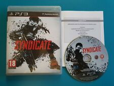 PS3 : syndicate