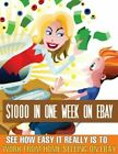 NEW $ 1000 IN ONE WEEK ON EBAY EBOOK WITH MRR+ bonuse books DELIVERY Fast