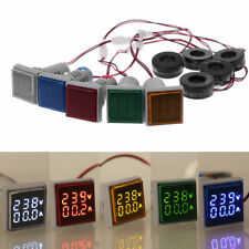Ac 60 500v 0 100a Digital Voltmeter Ammeter Dual Led Amp Volt Meter Shunt