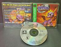 Spyro 2: Ripto's Rage  - Playstation 1 2 PS1 PS2 Game Complete Tested Works Rare