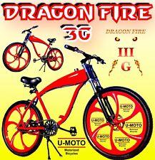 """26"""" Gas Tank Bike For 48Cc/66cc/80cc 2-Stroke Motorized Bike Kit"""