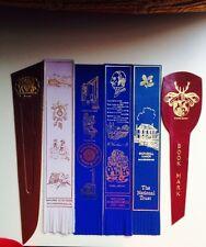 6 Vintage Leather Bookmark
