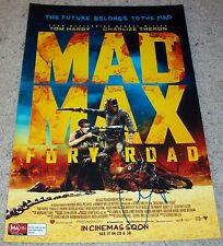 GEORGE MILLER SIGNED AUTOGRAPH MAD MAX FURY ROAD 12x18 PHOTO w/EXACT VIDEO PROOF