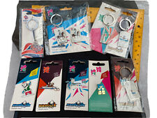 London 2012 Olympic And Paralympic Games 10 x Items Keyring And Pin Badges