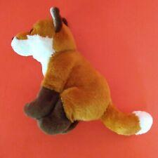Plush Sitting Red Fox