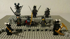 (B11/17) Lego ninjago Mini Figure 2507 9446 70591 70676 70725 Usato