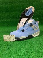 "Jordan 4 Retro ""University Blue"" Mens Size 11.5 Brand New"
