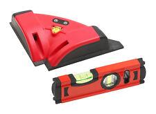 Meister Fliesenlaser und Wasserwaagen Laser Set Winkellaser Winkelmesser 6568000