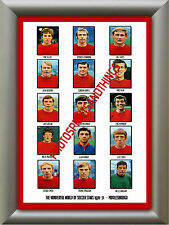 MIDDLESBROUGH - 1970-71 - REPRO STICKERS A3 POSTER PRINT