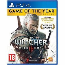 The Witcher III 3 Wild Hunt Game of The Year Edition Ps4 PlayStation 4