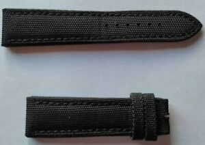 BREITLING Watch Strap OEM 22mm Avenger 109W fabric canvas band 22-20 USED