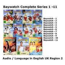 Baywatch - UK Region 2 DVD Complete Series 1-11 Seasons BoxSet New