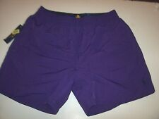 New Polo Ralph Lauren Squire purple logo swimsuit shorts swim trunks large XL