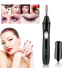 Black Pen Electric Heated Makeup Eye Lashes Long Lasting Eyelash Curler Beauty