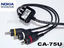 Genuine Nokia CA-75U TV Out Connectivity Cable for N82 N86 N95 N95 8GB N96 N97