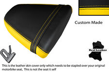 YELLOW & BLACK CUSTOM FITS SUZUKI SRAD GSXR 96-00 600 750 REAR SEAT COVER