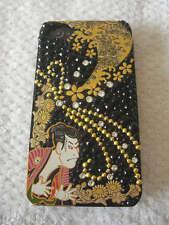 IPHONE 4/4S SWAROVSKI CASE/JACKET JAPAN HAND MADE WAGARA SHARAKU UNISEX