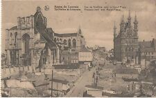 POSTCARD  MILITARY WWI   LOUVAIN  After Bombing