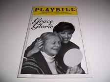 1996 ROUNDABOUT THEATRE PLAYBILL - GRACE & GLORIE - ESTELLE PARSONS LUCIE ARNAZ