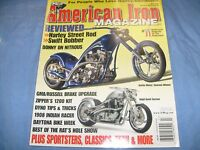 2006 JULY AMERICAN IRON CHOPPER MAGAZINE MOTORCYCLE HARLEY BOBBER BAGGER /f4