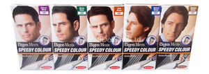 3 x Bigen Speedy Men's Permanent Hair Colour Dye No Ammonia - All Colours