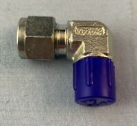 "🌟(1) Tylok 90° CPI Elbow Compression Fitting, 3/8"" Tube x 1/4"" Male NPT, Steel"