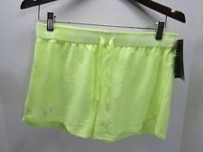 Under Armour Womens HeatGear Loose Shorts Lime Size SM/P/P