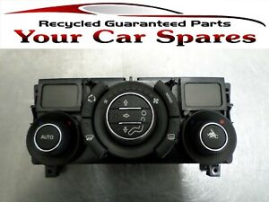 Peugeot 308 Heater Controls with Air Conditioning 07-13 Mk1