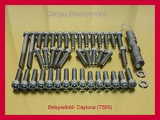 Triumph Daytona 955i / 955 i - V2A Schrauben Edelstahlschrauben Motorschrauben