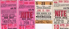 Tony Conigliaro HR Ticket Lot of 4 Ticket Pass Boston Red Sox 1964/1970