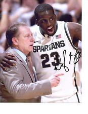 Draymond Green signed auto photo Michigan State basketball Spartans MSU Tom Izzo