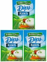 Hidden Valley Dips Original Ranch Dip Mix 3 Packets