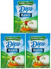Hidden Valley Dips Original Ranch Dip Mix 3 Packets