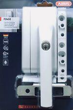 ABUS Stabiles Fenster-Zusatzschloss F0400N - Verkrallende Stahlriegel - weiß