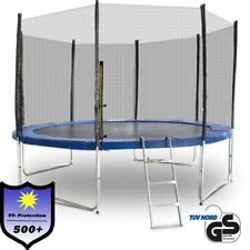 Outdoor Trampolin 370 366 Gartentrampolin Fitness 3,70m Komplettset für Garten