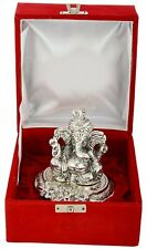 Silver Plated Traditional Pagdi Ganesha Xclusive Gifts for Diwali Home Decor
