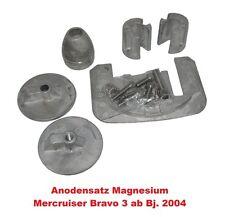 Anodensatz Magnesium Mecruiser Bravo III ab 2004 Süswasser Z-Antrieb Innenborder