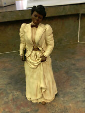 "All God'S Children Resin Figurine "" Ida B. Wells"" African American Journalist"