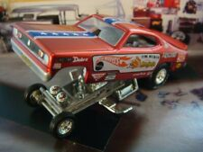 """The Mongoose"" Tom McEwen Plymouth Duster Funny Car 1/64 Scale Limited Edition P"